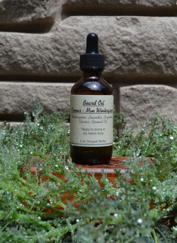 Beard Oil Konnar - Man Wintergreen
